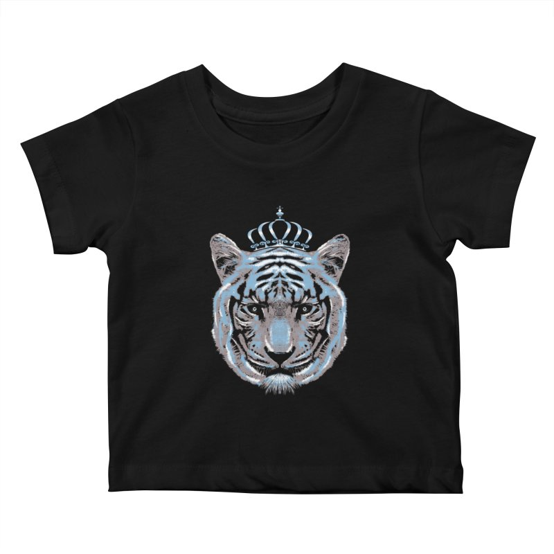 Queen Of The Jungle Kids Baby T-Shirt by mitchdosdos's Shop