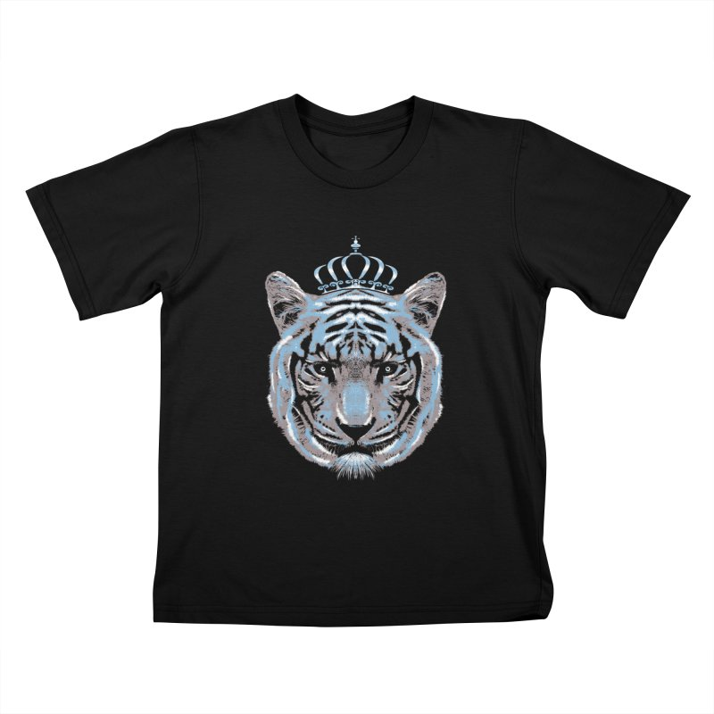 Queen Of The Jungle Kids T-Shirt by mitchdosdos's Shop