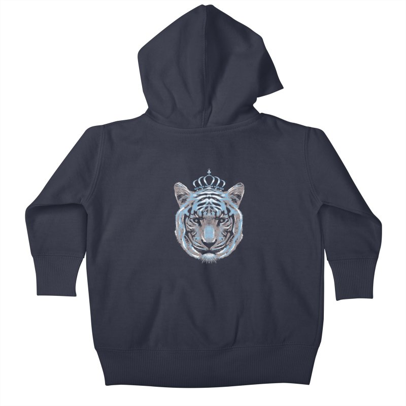 Queen Of The Jungle Kids Baby Zip-Up Hoody by mitchdosdos's Shop