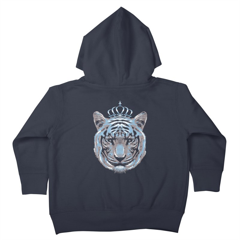 Queen Of The Jungle Kids Toddler Zip-Up Hoody by mitchdosdos's Shop