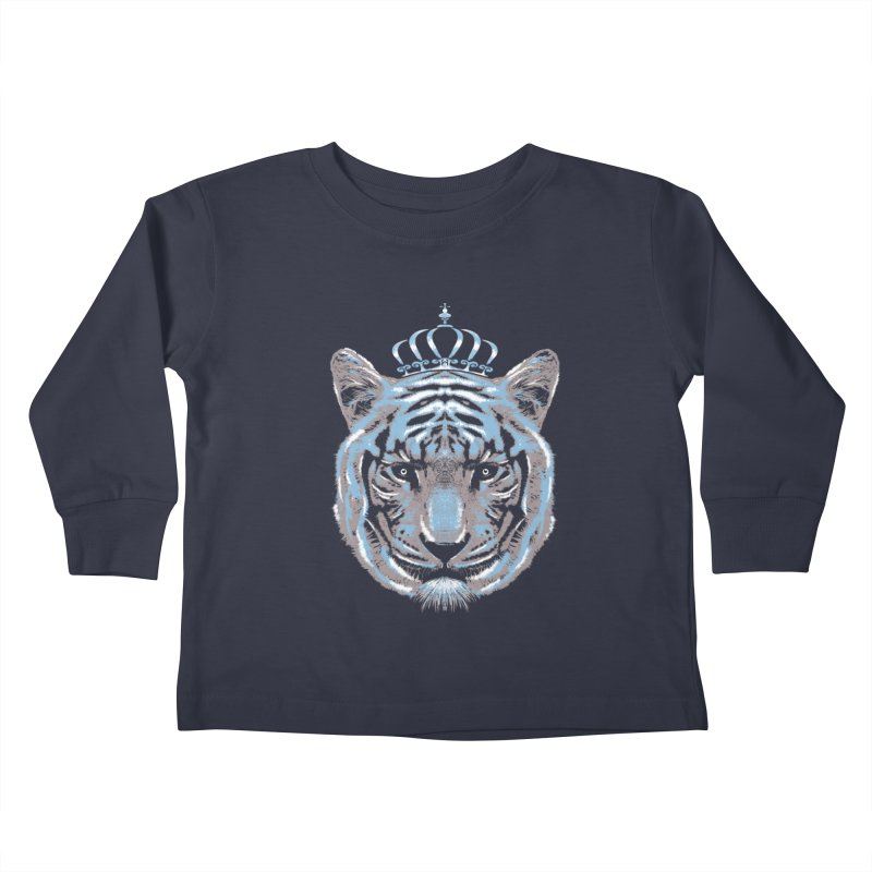 Queen Of The Jungle Kids Toddler Longsleeve T-Shirt by mitchdosdos's Shop