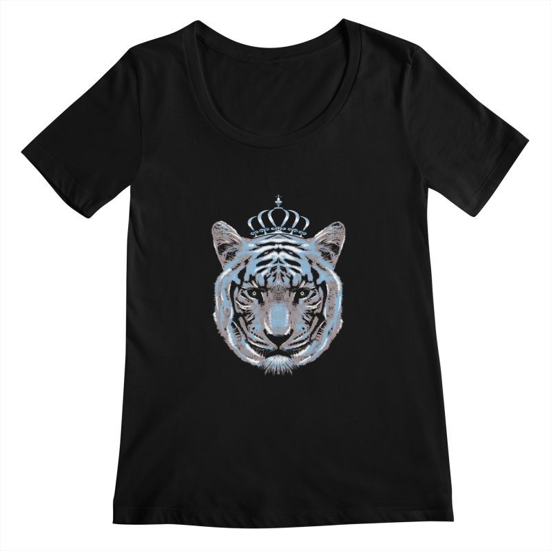 Queen Of The Jungle Women's Scoopneck by mitchdosdos's Shop