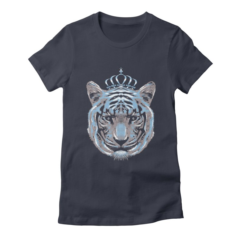 Queen Of The Jungle Women's Fitted T-Shirt by mitchdosdos's Shop