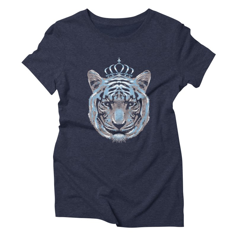 Queen Of The Jungle Women's Triblend T-Shirt by mitchdosdos's Shop