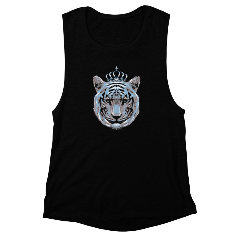 Queen Of The Jungle Women's Muscle Tank by mitchdosdos's Shop