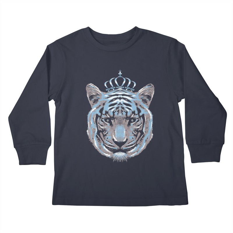 Queen Of The Jungle Kids Longsleeve T-Shirt by mitchdosdos's Shop
