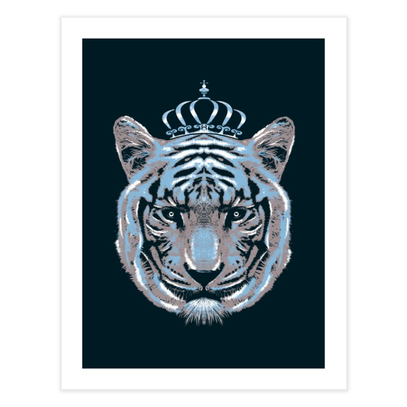 Queen Of The Jungle Home Fine Art Print by mitchdosdos's Shop
