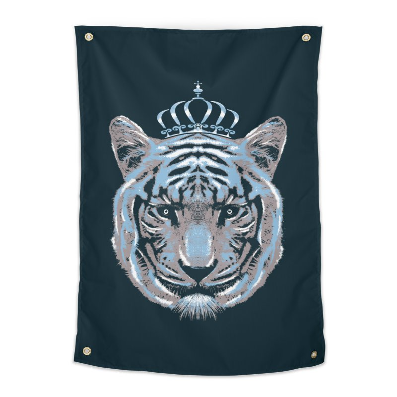 Queen Of The Jungle Home Tapestry by mitchdosdos's Shop