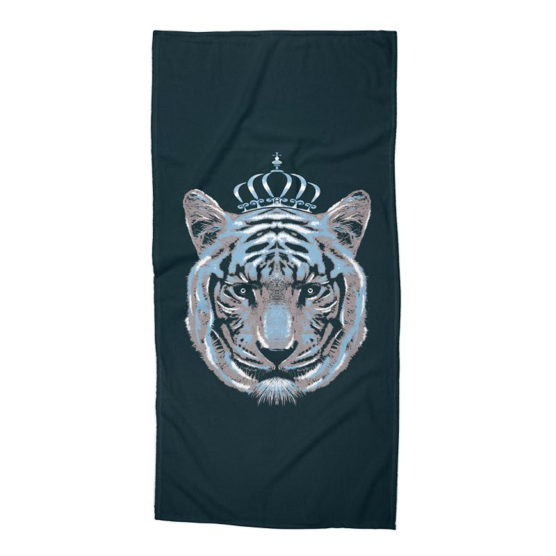 Queen Of The Jungle Accessories Beach Towel by mitchdosdos's Shop