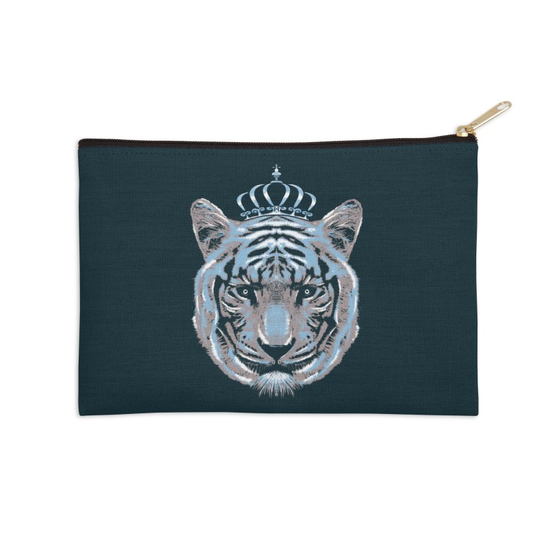 Queen Of The Jungle Accessories Zip Pouch by mitchdosdos's Shop