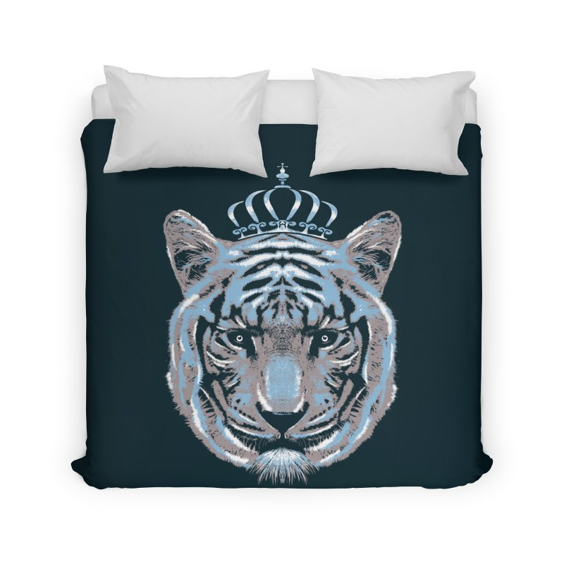 Queen Of The Jungle Home Duvet by mitchdosdos's Shop