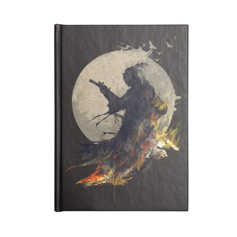 Blazing Samurai 2 Accessories Notebook by mitchdosdos's Shop