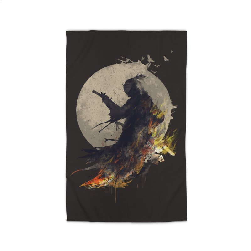 Blazing Samurai 2 Home Rug by mitchdosdos's Shop