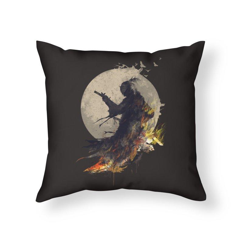 Blazing Samurai 2 Home Throw Pillow by mitchdosdos's Shop