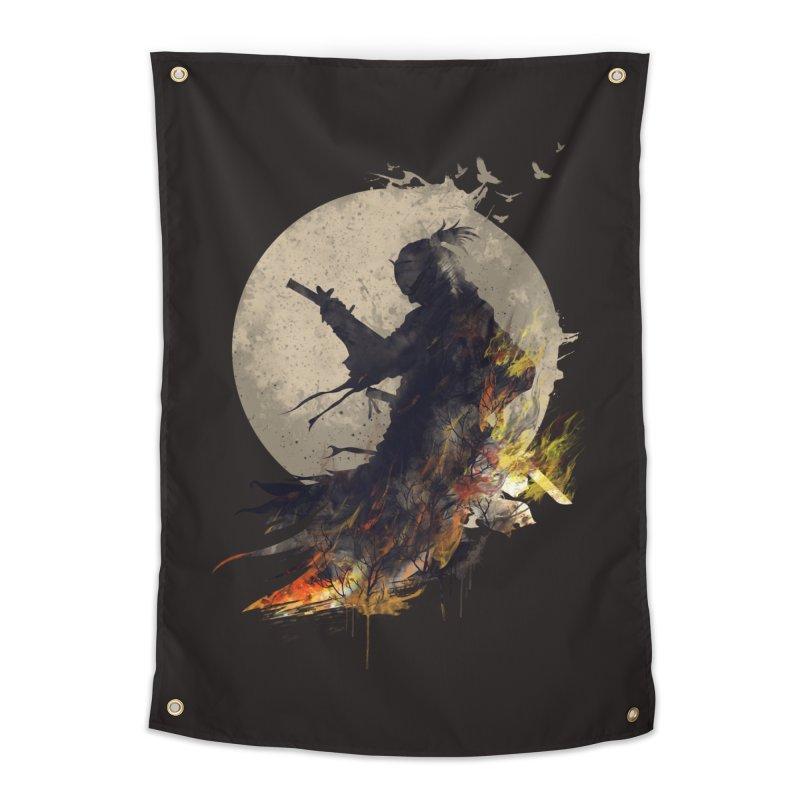 Blazing Samurai 2 Home Tapestry by mitchdosdos's Shop