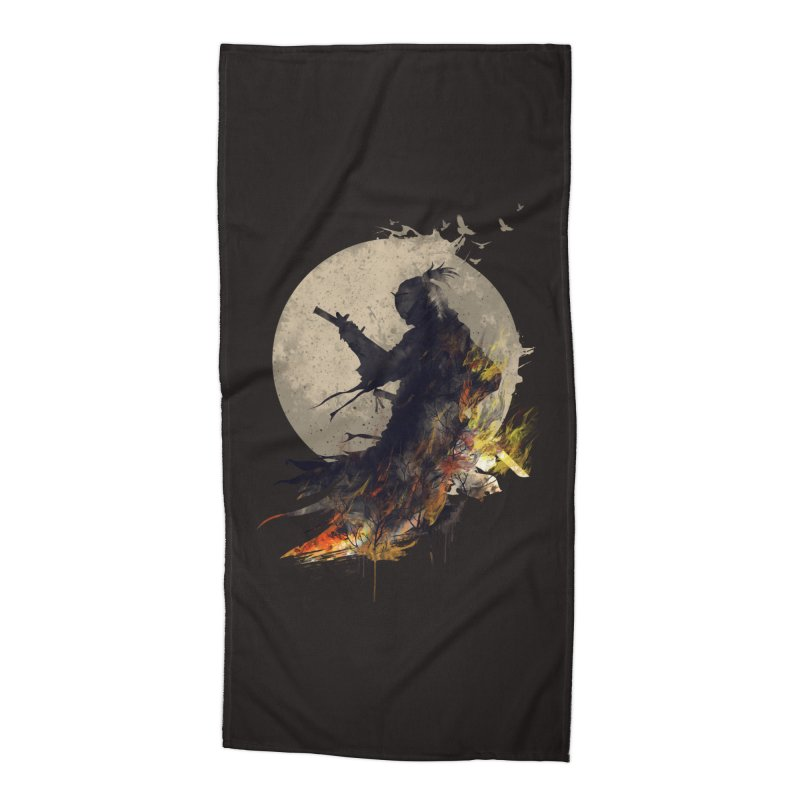 Blazing Samurai 2 Accessories Beach Towel by mitchdosdos's Shop