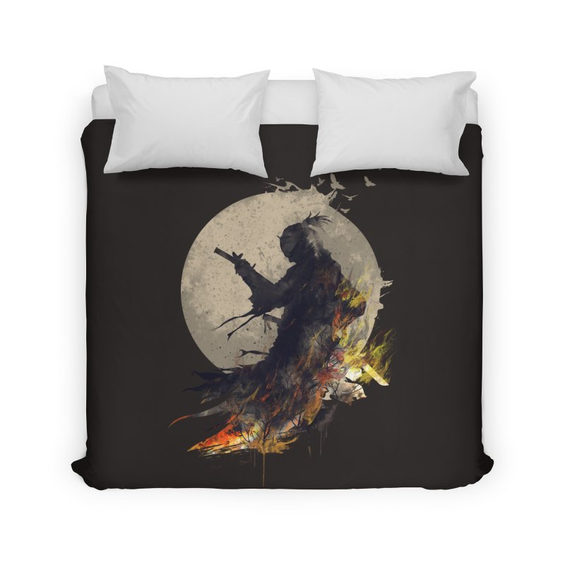 Blazing Samurai 2 Home Duvet by mitchdosdos's Shop