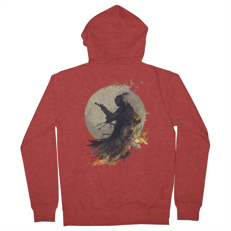 Blazing Samurai 2 Women's Zip-Up Hoody by mitchdosdos's Shop