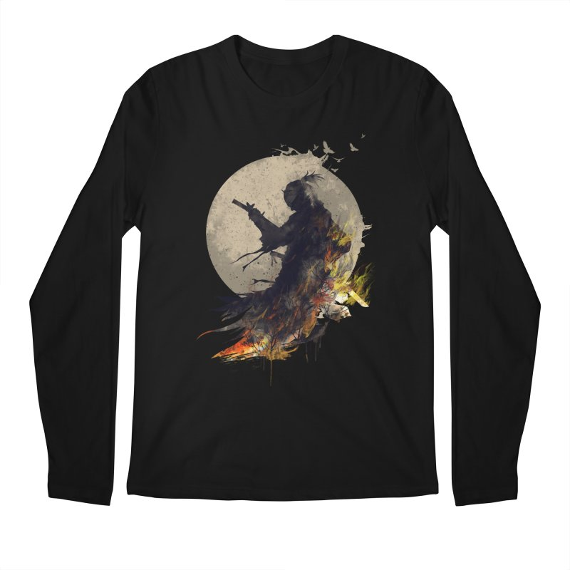 Blazing Samurai 2 Men's Longsleeve T-Shirt by mitchdosdos's Shop