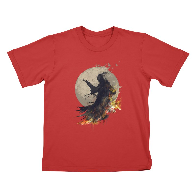 Blazing Samurai 2 Kids T-Shirt by mitchdosdos's Shop