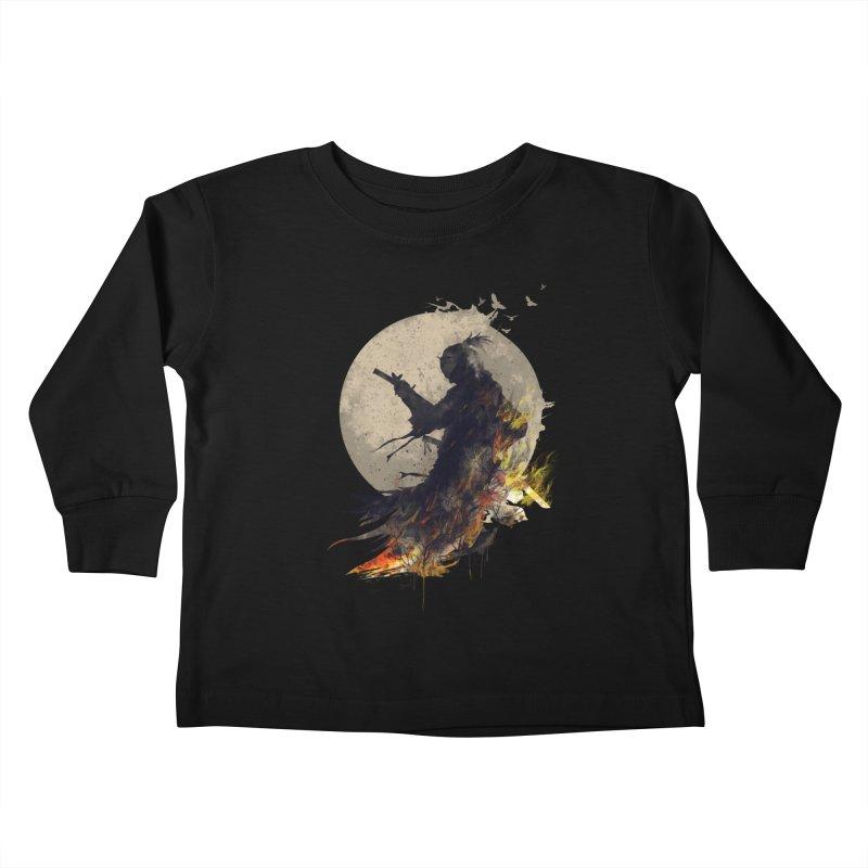 Blazing Samurai 2 Kids Toddler Longsleeve T-Shirt by mitchdosdos's Shop