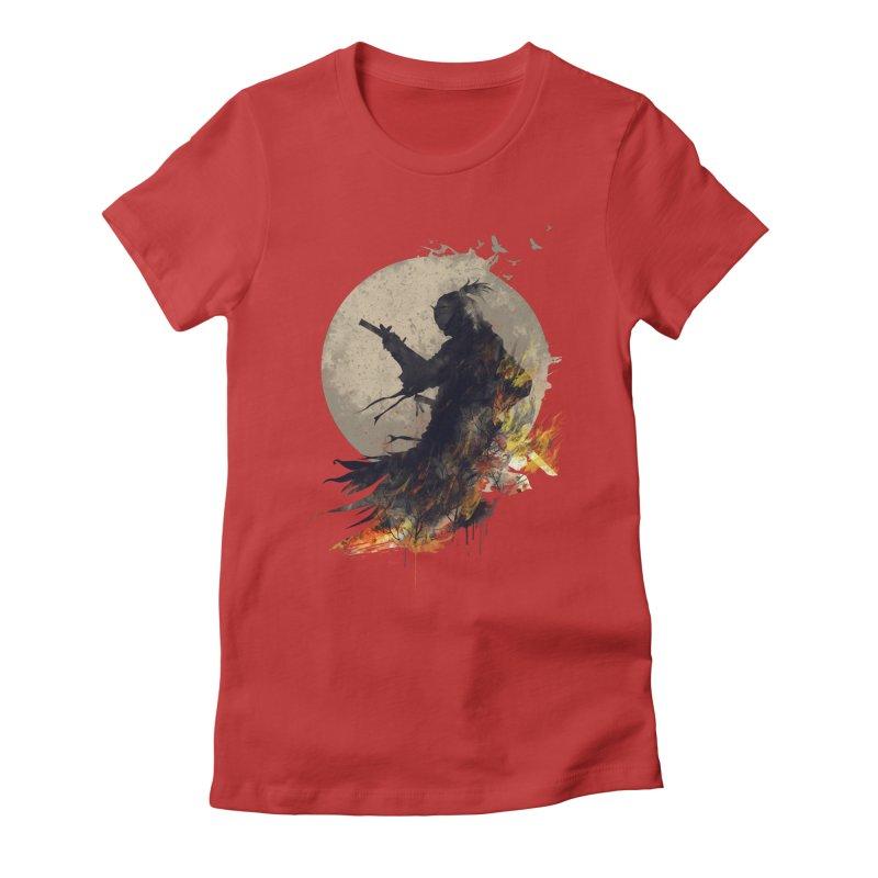 Blazing Samurai 2 Women's Fitted T-Shirt by mitchdosdos's Shop