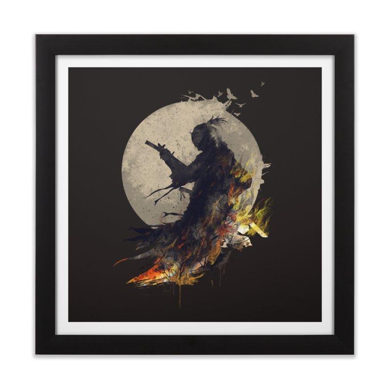 Blazing Samurai 2 Home Framed Fine Art Print by mitchdosdos's Shop