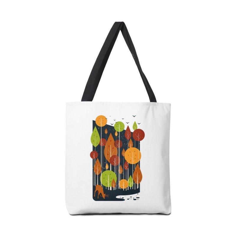 Midnight Scenery Accessories Bag by mitchdosdos's Shop