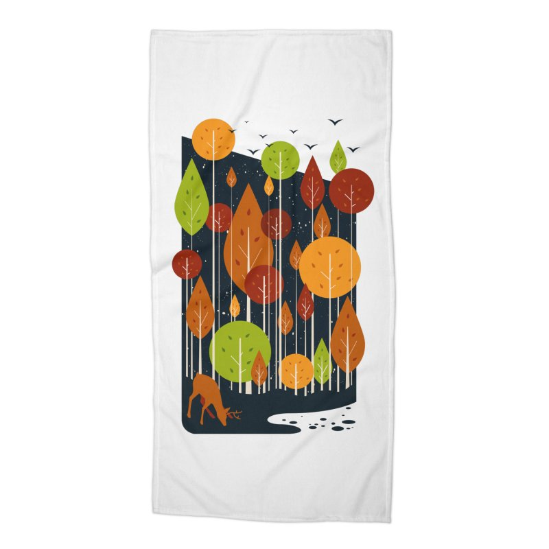Midnight Scenery Accessories Beach Towel by mitchdosdos's Shop