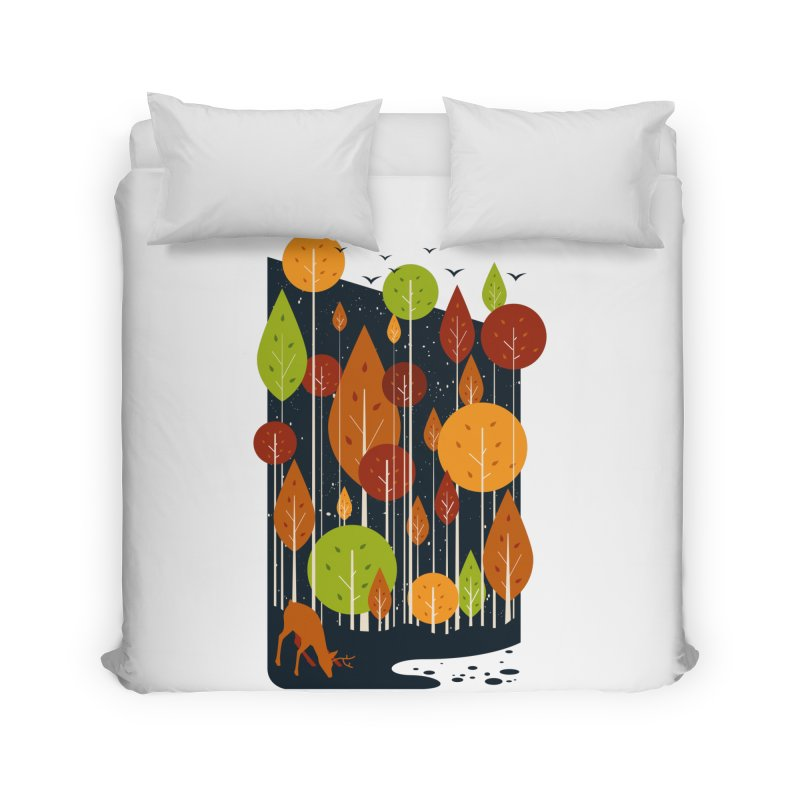 Midnight Scenery Home Duvet by mitchdosdos's Shop