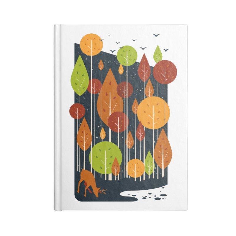 Midnight Scenery Accessories Notebook by mitchdosdos's Shop