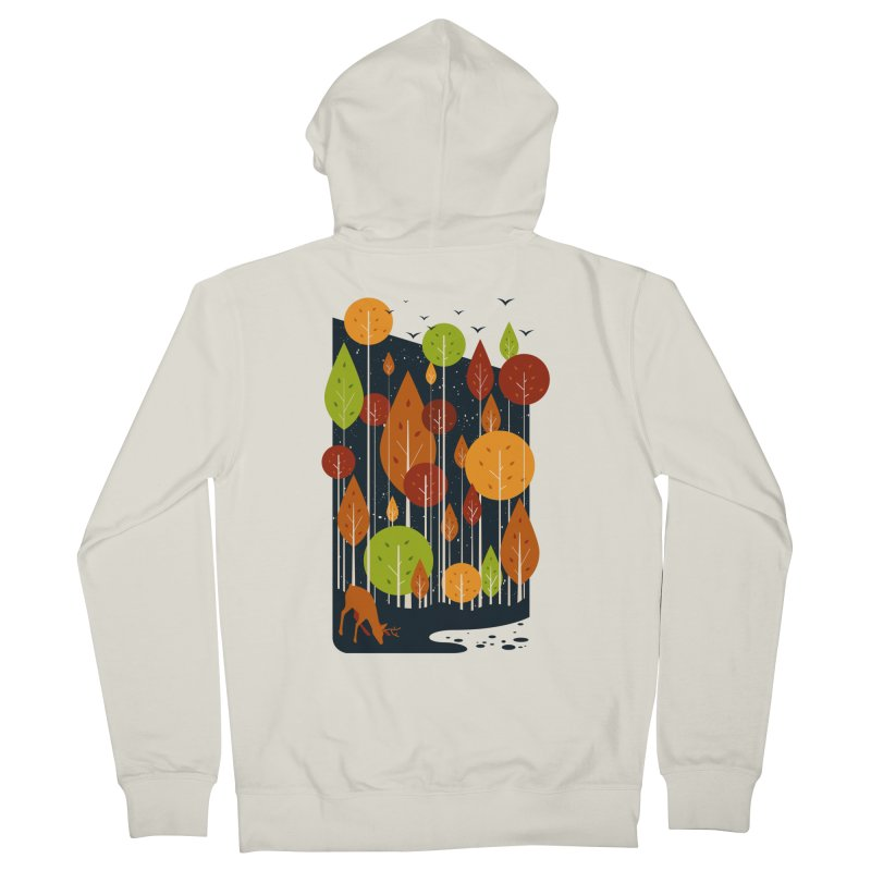 Midnight Scenery Women's Zip-Up Hoody by mitchdosdos's Shop