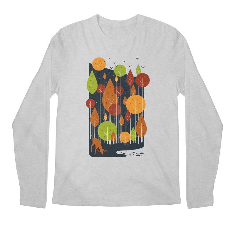 Midnight Scenery Men's Longsleeve T-Shirt by mitchdosdos's Shop
