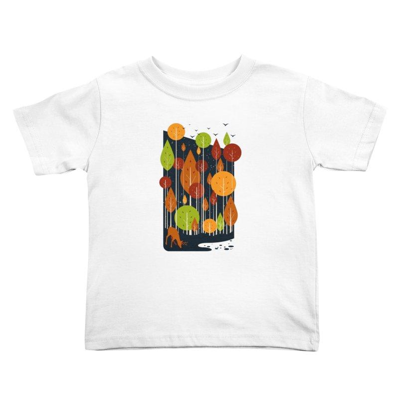 Midnight Scenery Kids Toddler T-Shirt by mitchdosdos's Shop