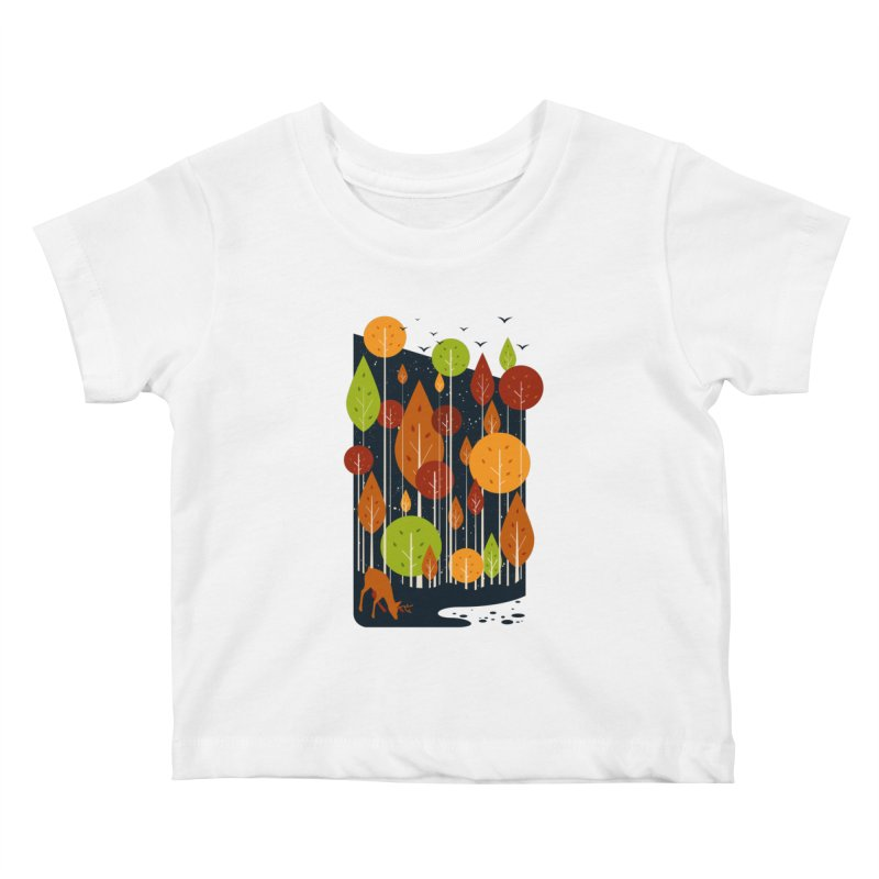 Midnight Scenery Kids Baby T-Shirt by mitchdosdos's Shop