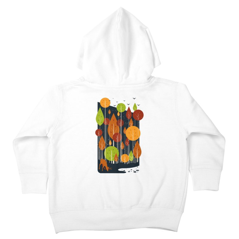 Midnight Scenery Kids Toddler Zip-Up Hoody by mitchdosdos's Shop
