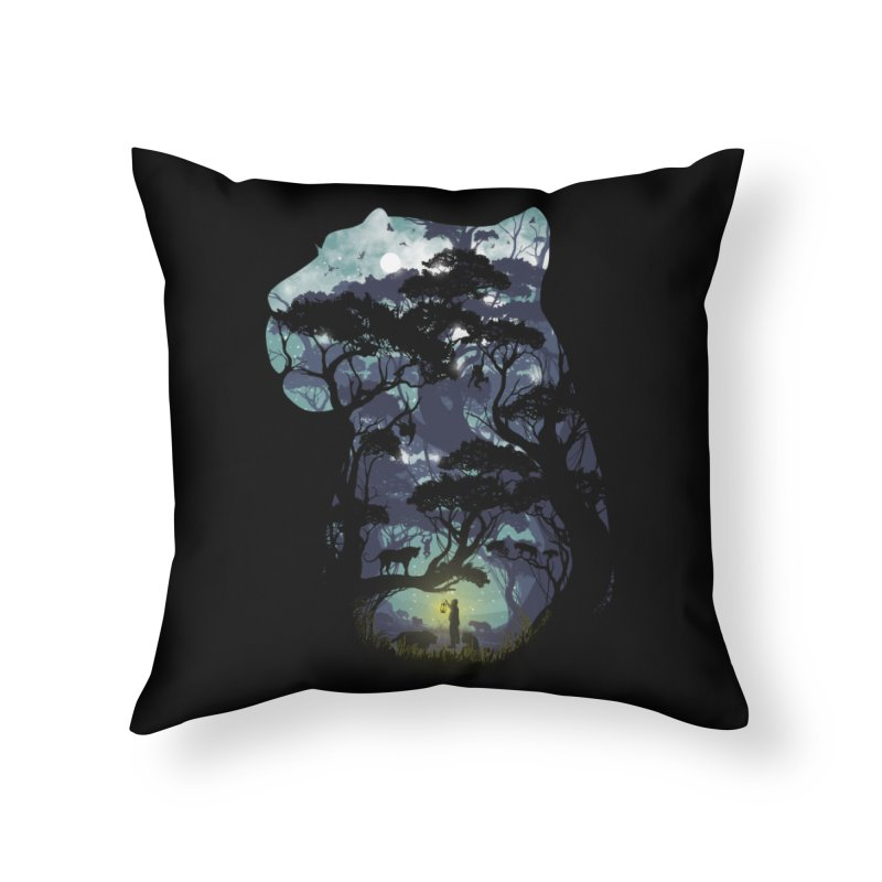 The Keeper Home Throw Pillow by mitchdosdos's Shop