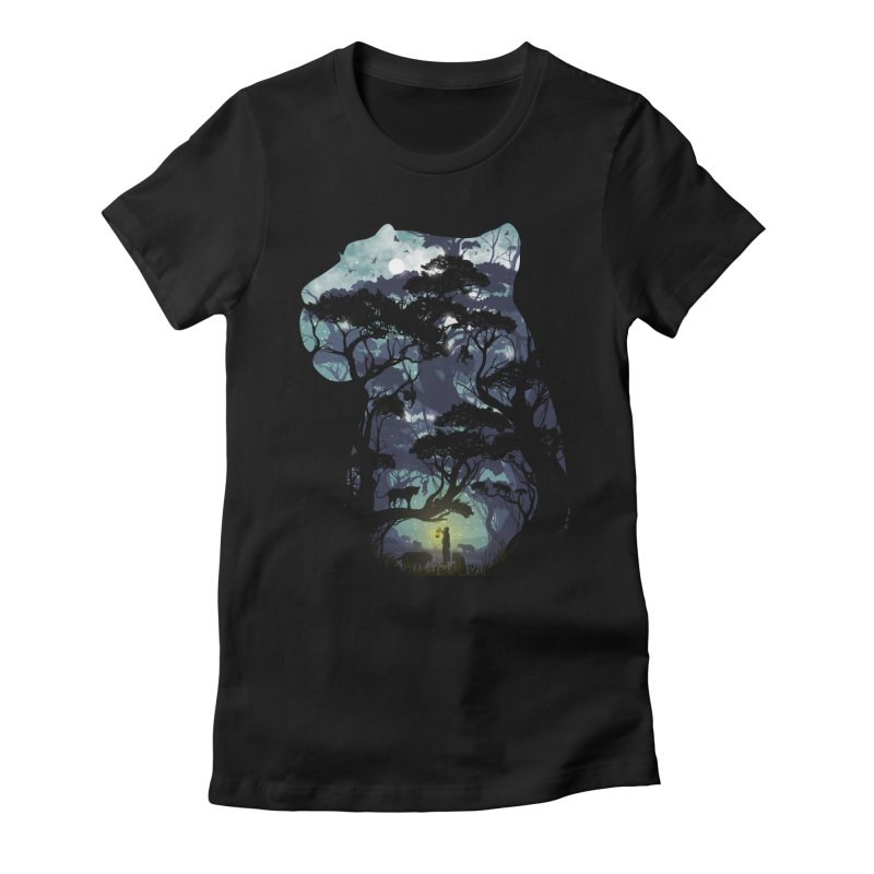 The Keeper Women's Fitted T-Shirt by mitchdosdos's Shop