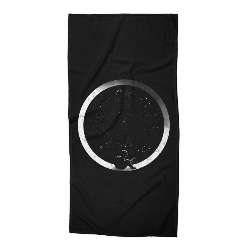 Astrology Accessories Beach Towel by mitchdosdos's Shop