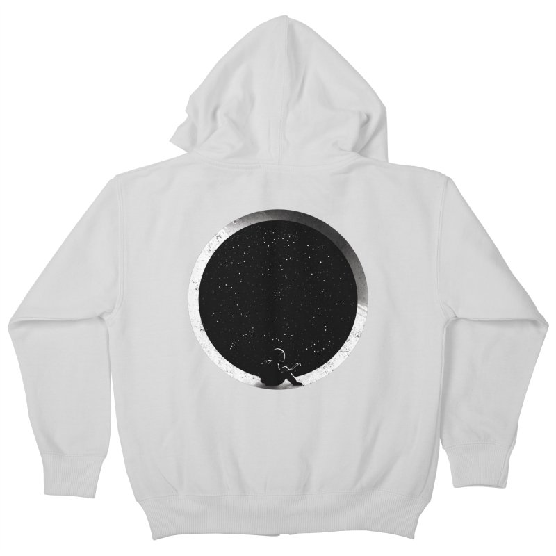 Astrology Kids Zip-Up Hoody by mitchdosdos's Shop