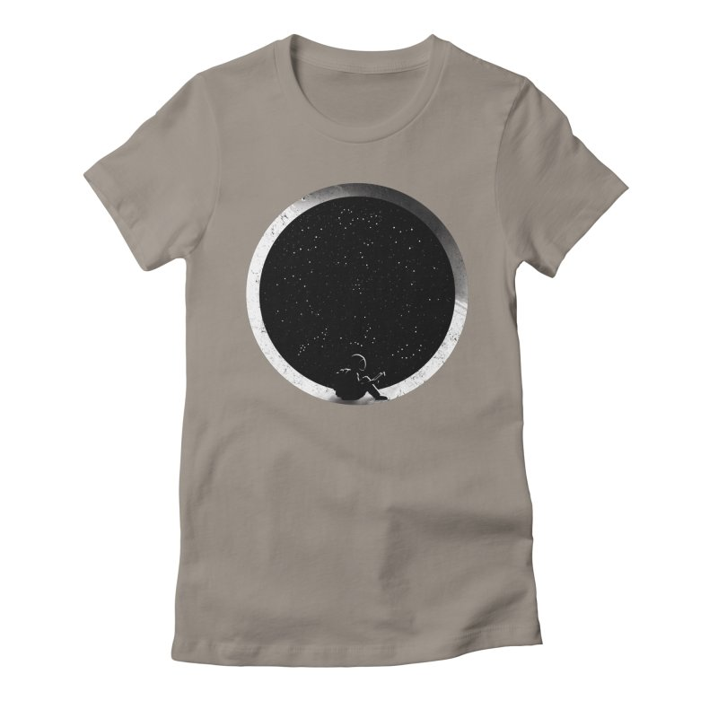 Astrology Women's Fitted T-Shirt by mitchdosdos's Shop