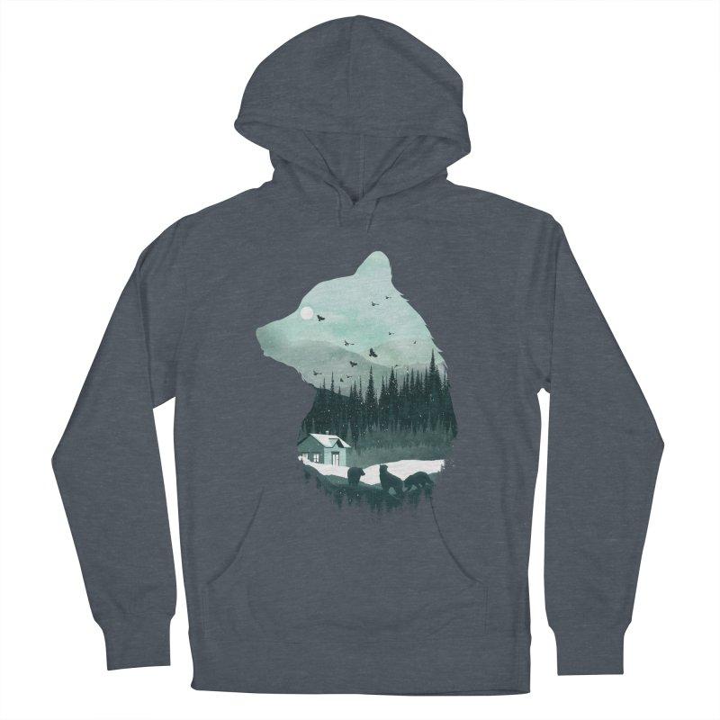 Snow Bear Men's Pullover Hoody by mitchdosdos's Shop
