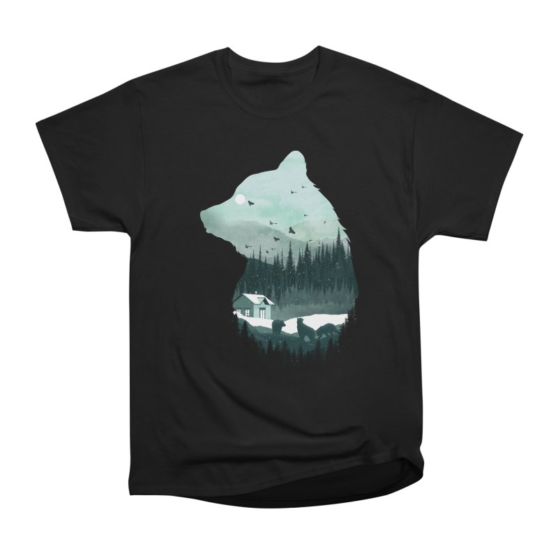Snow Bear Women's Classic Unisex T-Shirt by mitchdosdos's Shop