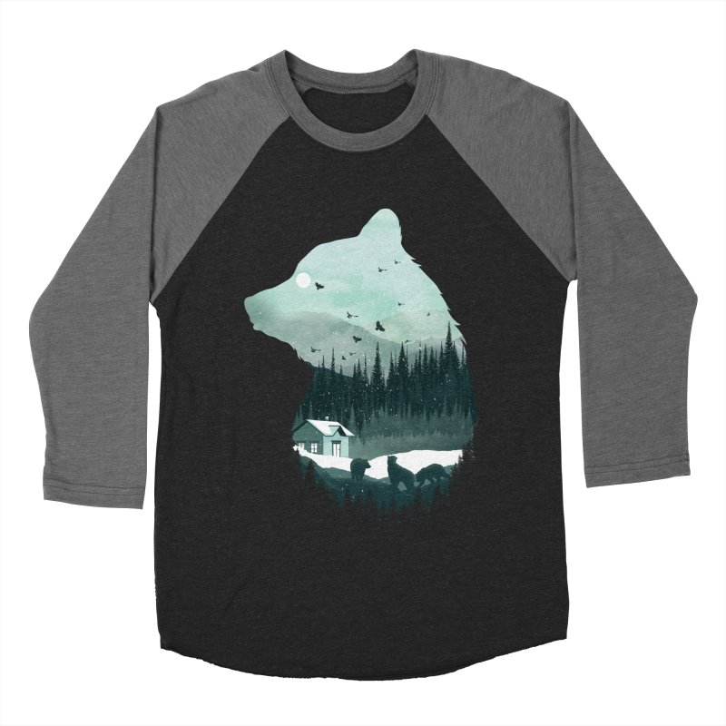 Snow Bear Women's Baseball Triblend T-Shirt by mitchdosdos's Shop