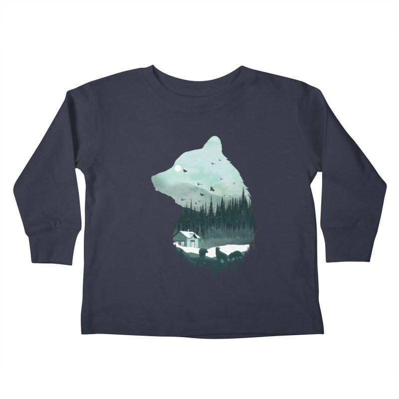 Snow Bear Kids Toddler Longsleeve T-Shirt by mitchdosdos's Shop