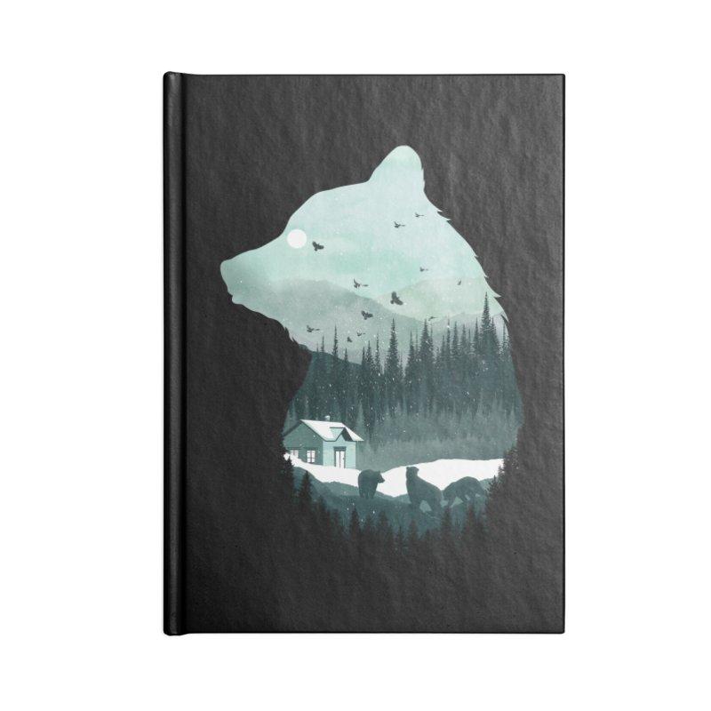 Snow Bear Accessories Notebook by mitchdosdos's Shop