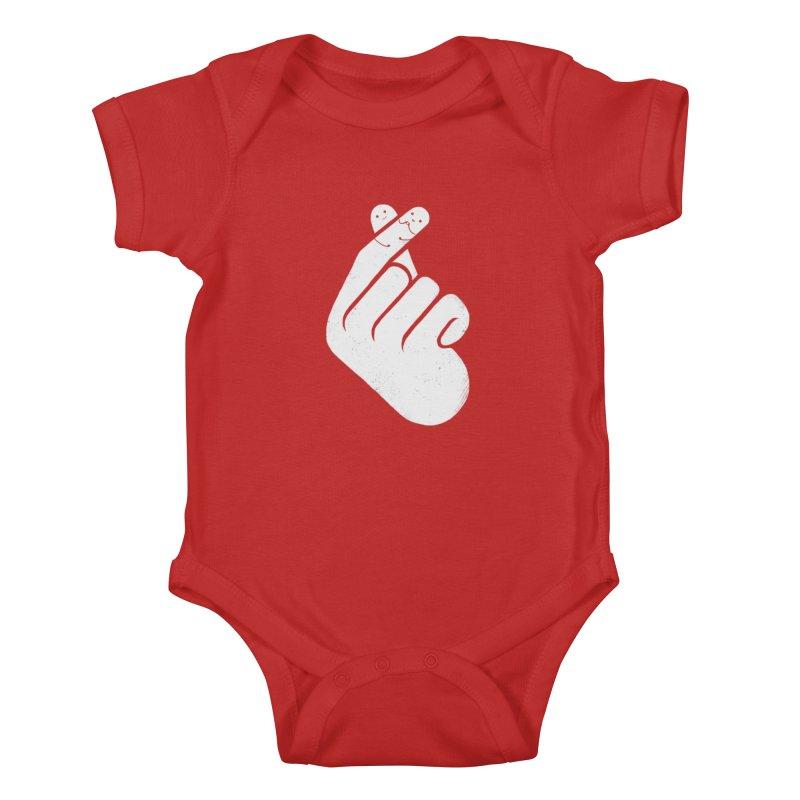 I Heart You! Kids Baby Bodysuit by mitchdosdos's Shop