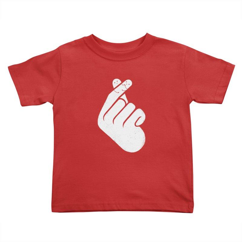 I Heart You! Kids Toddler T-Shirt by mitchdosdos's Shop