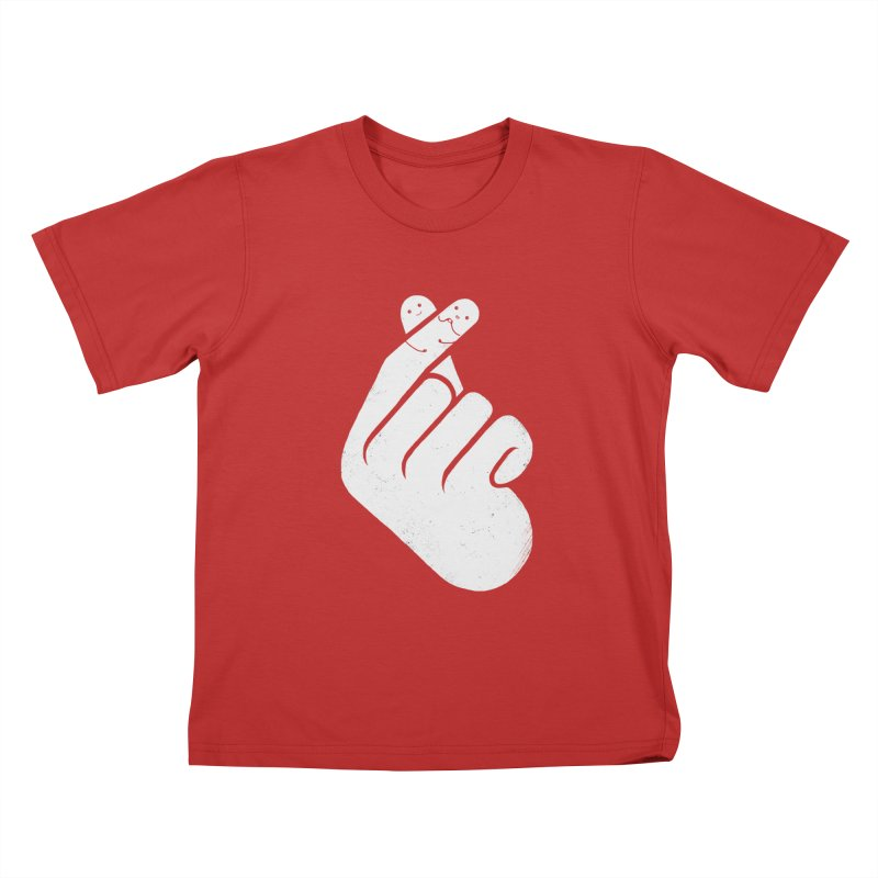 I Heart You! Kids T-Shirt by mitchdosdos's Shop
