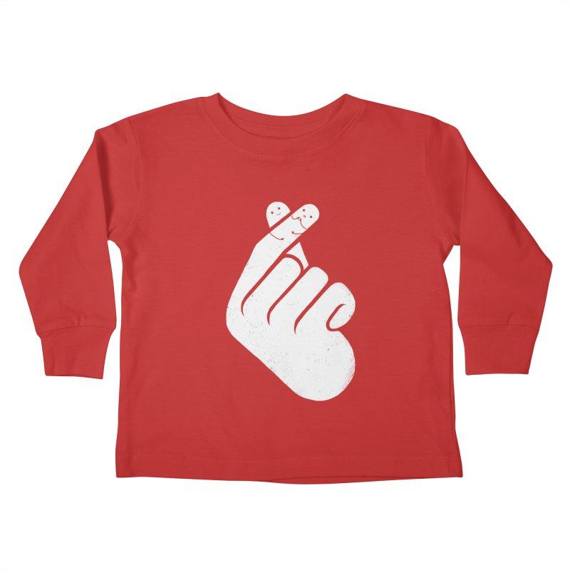 I Heart You! Kids Toddler Longsleeve T-Shirt by mitchdosdos's Shop
